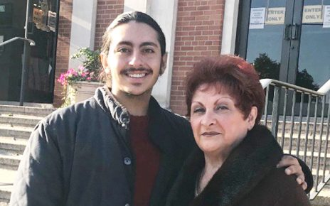 Antonio Ricco and his grandmother Phyllis Ricco