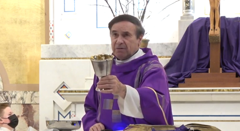 WATCH WEEKEND MASS from Mount Carmel / Blessed Sacrament at 4:30 p.m. Saturday and thereafter.